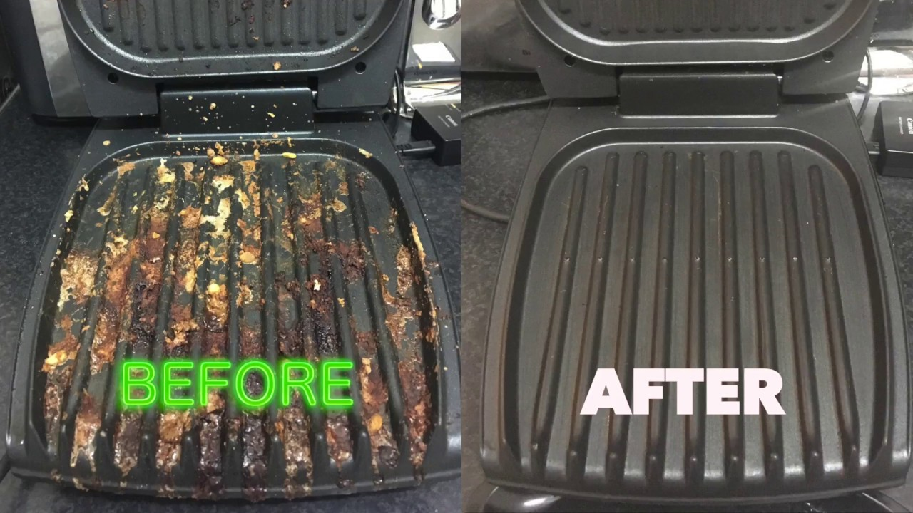 How To Clean Your George Foreman Grill The Easy Way Like A Boss