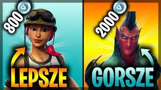 10 CHEAP SKINS BETTER THAN THOSE FOR 2000 V-BUCKS (Fortnite Battle Royale)