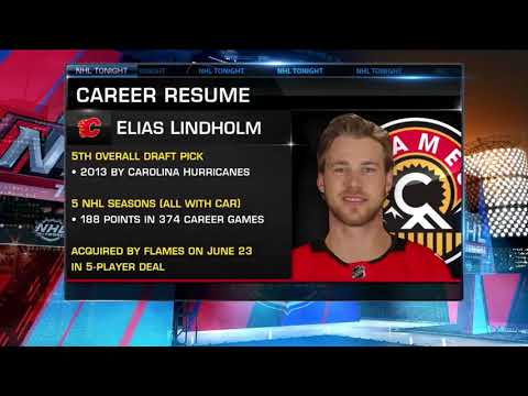 Flames Sign Elias Lindholm To Six-Year Contract