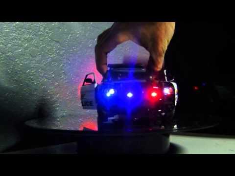 Police car presentation