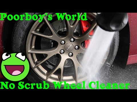 Poorboy's Spray And Rinse Wheel Cleaner Attacks Brembo Brakes !!