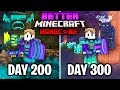 I Survived 300 Days in Better Minecraft Hardcore... Here's What Happened