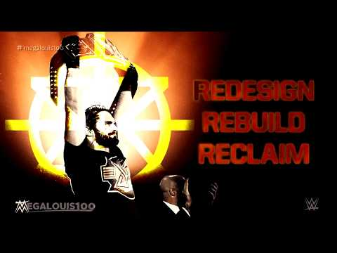 """Redesign, Rebuild, Reclaim"" by Downstait (lyrics) - Seth Rollins Custom WWE Theme Song"