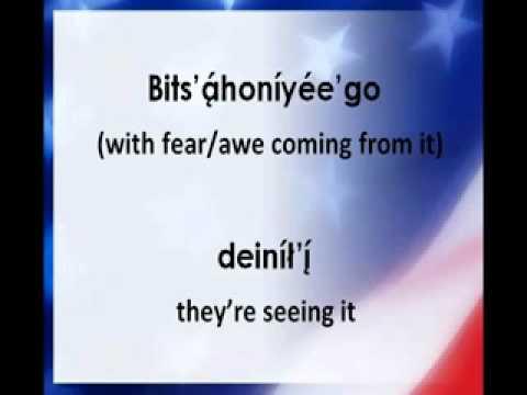 The Star Spangled Banner Navajo Lyrics National Anthem0