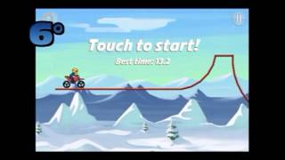 Bike Race TFG - How to get 3 stars - Walkthrow - ARTIC 2 - (First Bike)