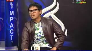 Nokphade Comic Artist, Herojit & Naobi on Manung Hutna 09 January 2016