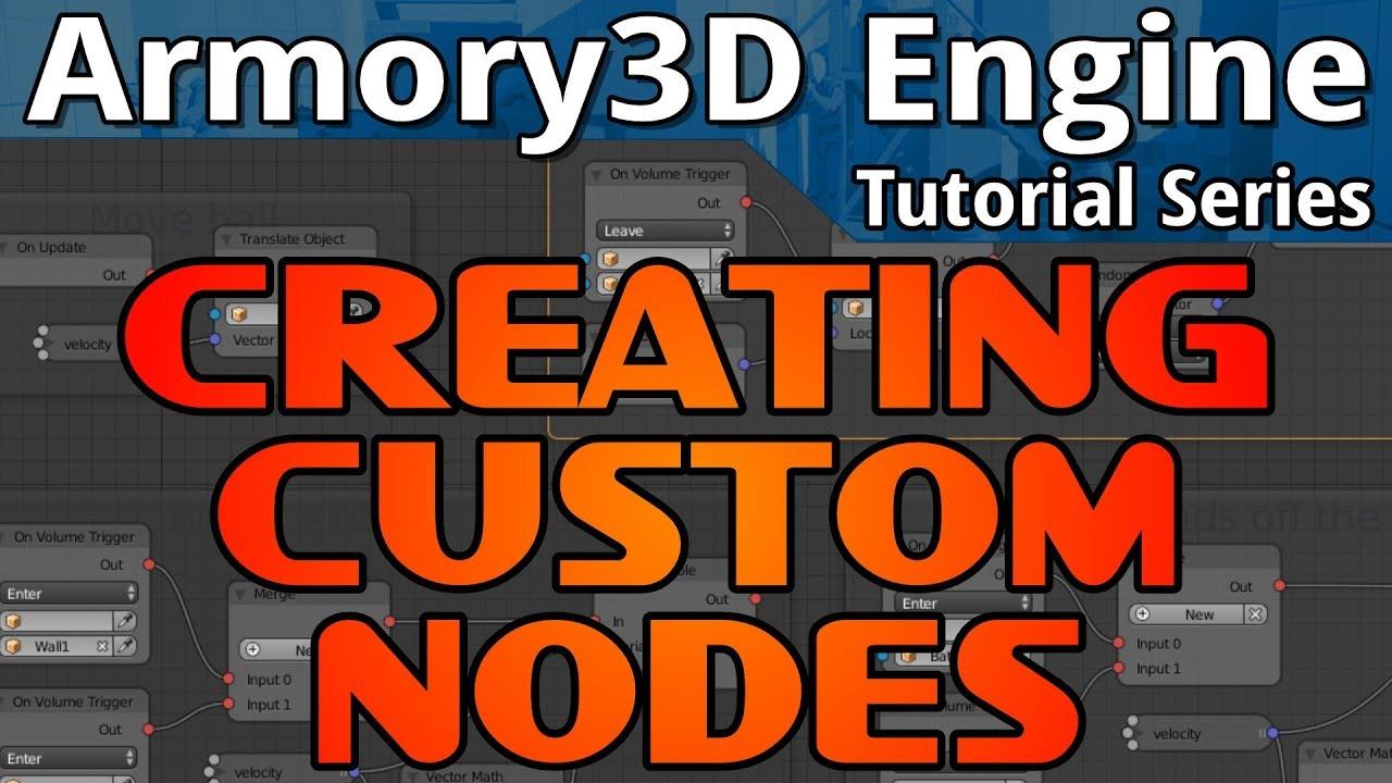 Creating Custom Nodes - devga me