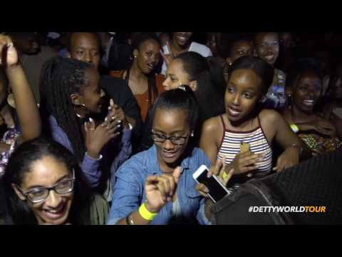 Mr Eazi in Kigali Rwanda - Detty World Tour