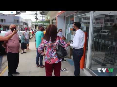 Agência do Banco Itaú fecha após suspeita de funcionário com Covid-19