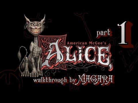 American McGees Alice Часть 1 Юдоль скорби и Крепость дверей