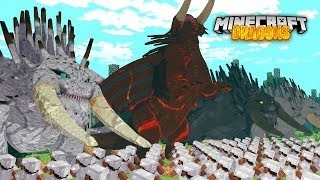 BATTLE BEWILDERBEASTS! - Minecraft Dragons