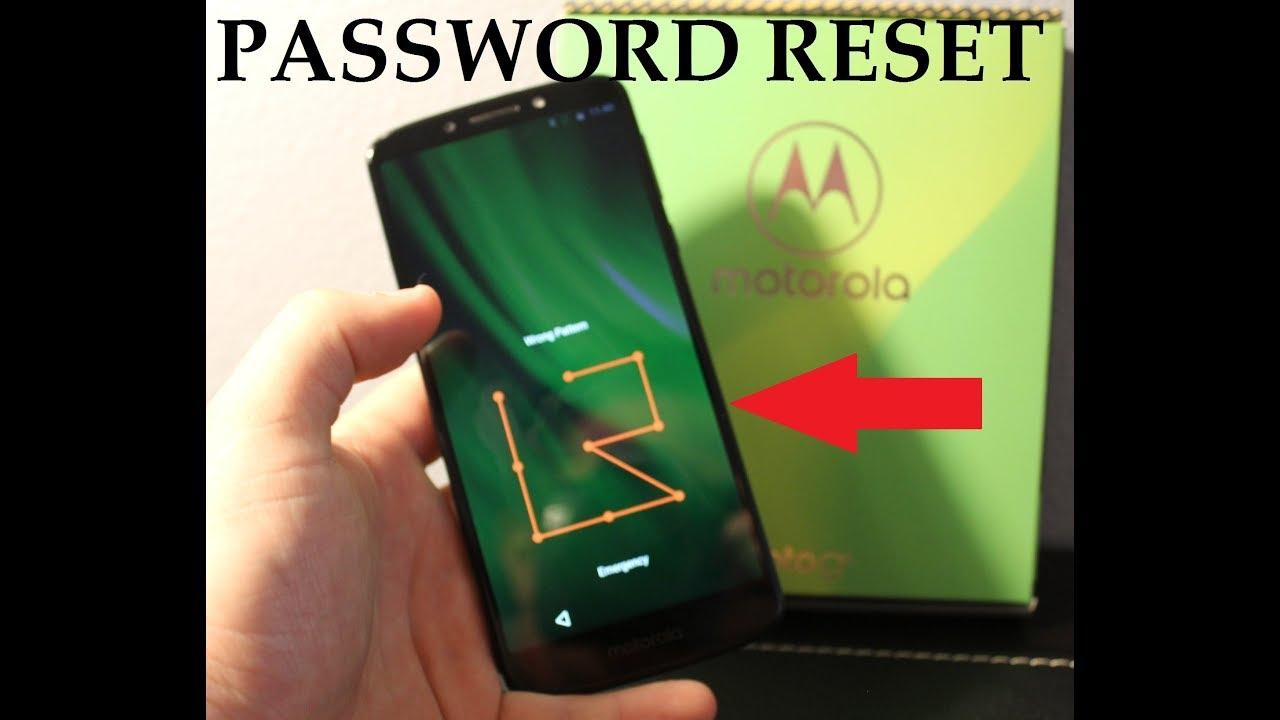 Moto G6 Demo Mode Password