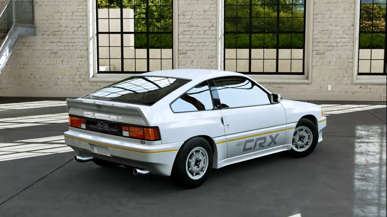 Forza motorsport 5 1984 honda civic crx mugen youtube for 1984 honda civic
