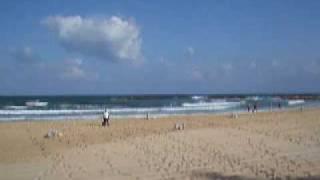 ヤッフォのビーチ