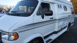 97 Dodge Pleasure Way Wide Body Class B Motorhome CLEAN Low Miles!