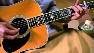 素人のギター弾き語り 夜と日時計 渡辺満里奈 詞曲・小沢健二 1992年 Yo...