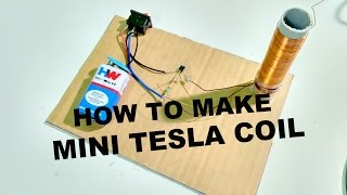 How to make a mini Tesla Coil In today's video I'll show you a grea...