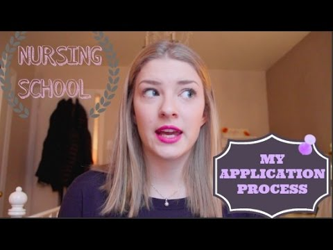NURSING SCHOOL: MY APPLICATION PROCESS