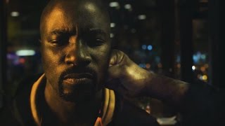 Люк Кейдж против бандитов. Luke Cage vs bandits. Сериал Люк Кейдж.