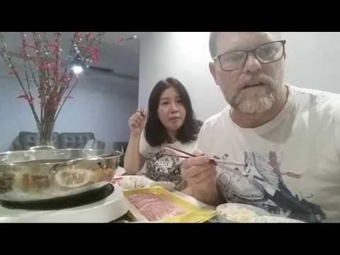 Live Hot Pot Dinner Chat With Bernice And Greg - Test video