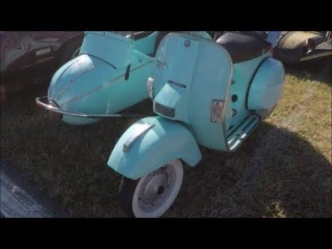 2002 Genuine Scooter Company Stella And Sidecar Blu DaytonaTurkeyRodRun112517
