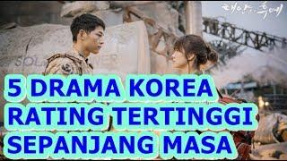 Video 5 DRAMA KOREA DENGAN RATING TERTINGGI SEPANJANG MASA WAJIB NONTON!!! download MP3, 3GP, MP4, WEBM, AVI, FLV September 2019