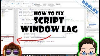 Roblox - CodePrime8 Labs - Wie man Laggy Script Window repariert