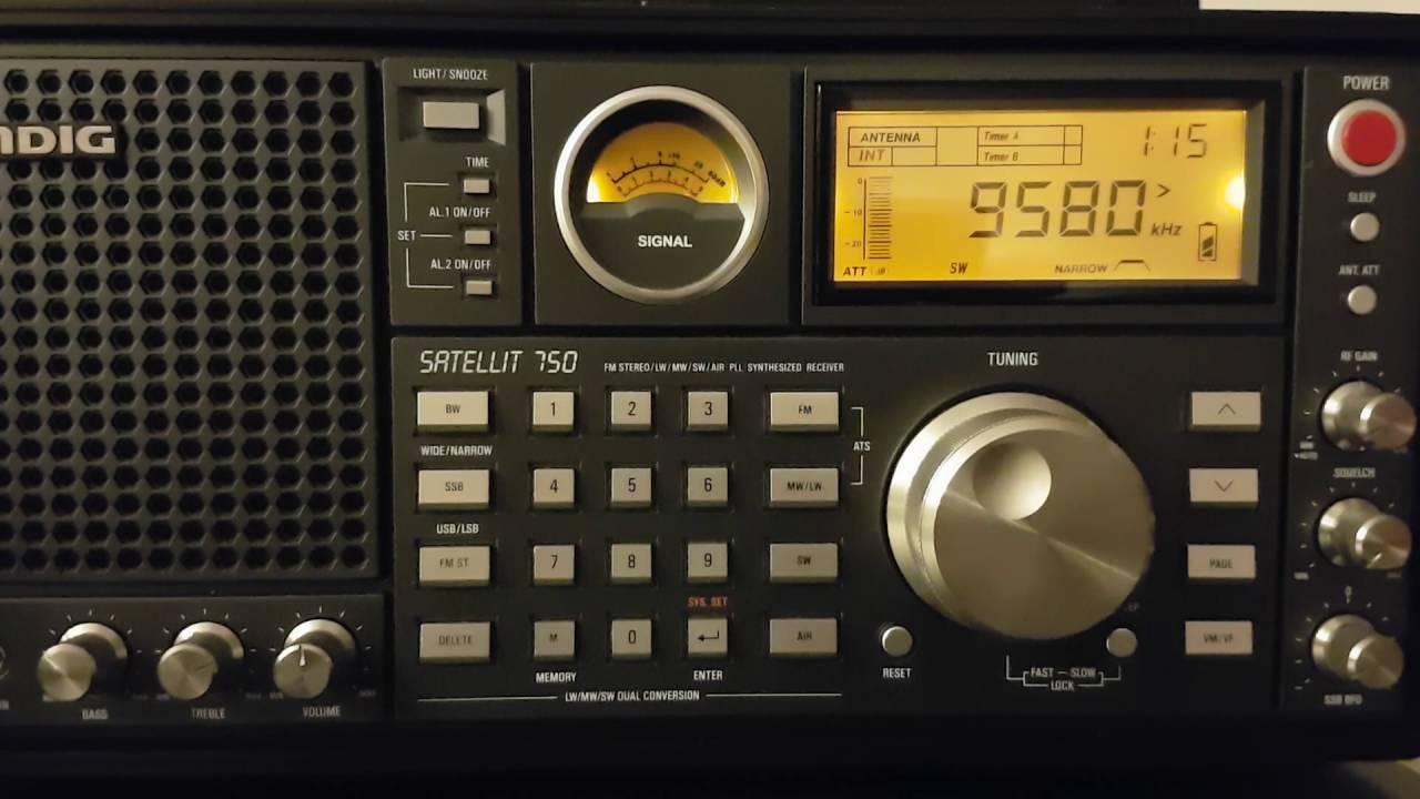 China Radio International 9580 KHz