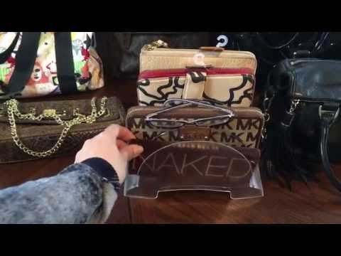 Thrift Garage Sale  Haul Designer Bags Etc... Kors , Tous, Badgley Mischka , Coach,