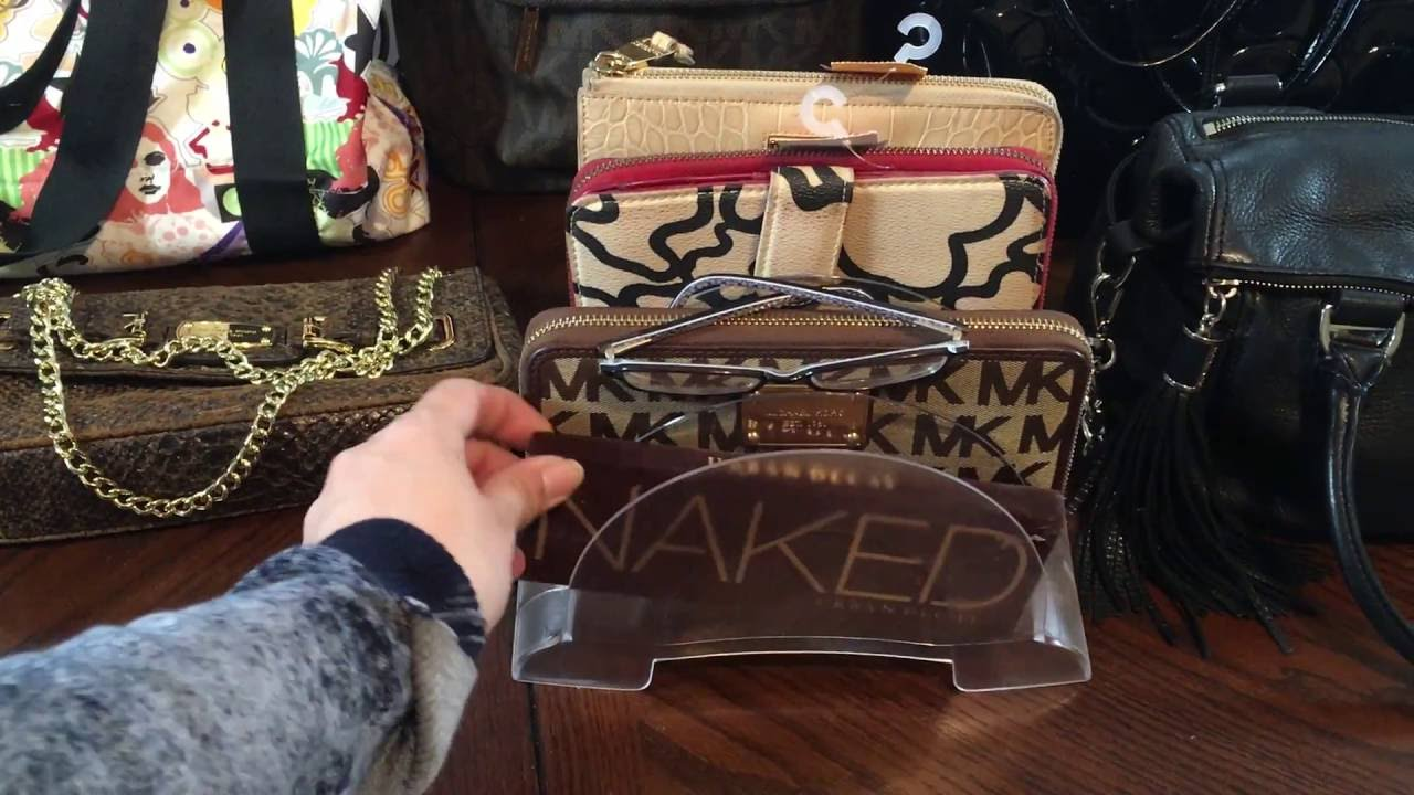 ca81b467ae42 Thrift Garage Sale Haul Designer Bags Etc... Kors