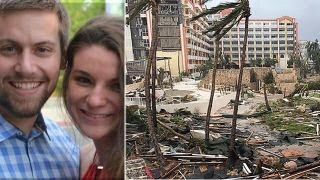 Honeymooners describe riding out Hurricane Irma in Caribbean