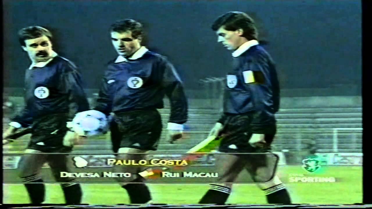 Arbitragens lesam o Sporting em 14 pontos na época 1998/1999
