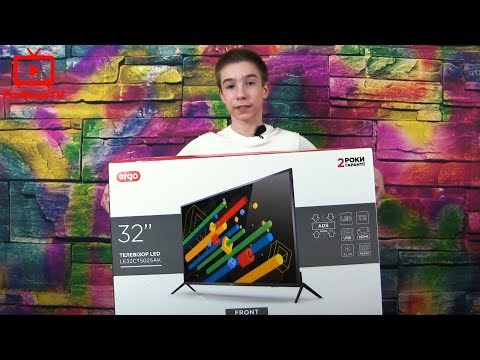 Обзор LED телевизора Ergo LE32CT5025AK из Rozetka