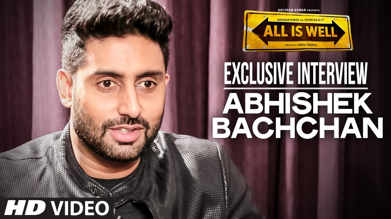 Exclusive: Abhishek Bachchan Interview | All Is Well | T-Series