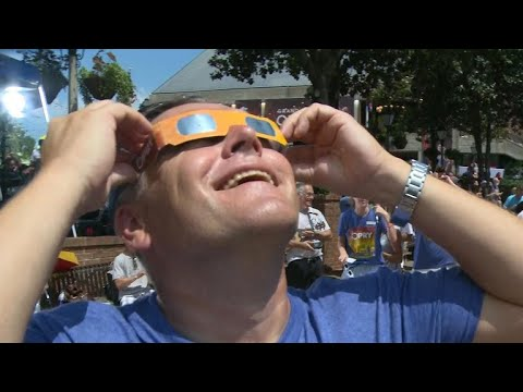 How the solar eclipse looked in Nashville