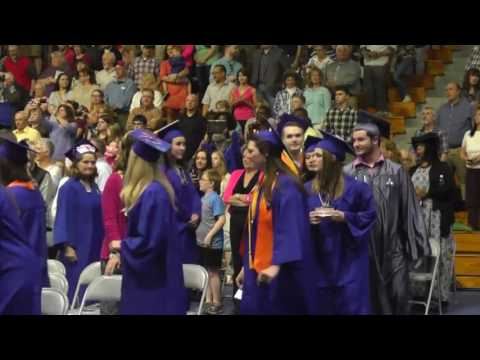 Clinton Community College Graduation  5-12-17