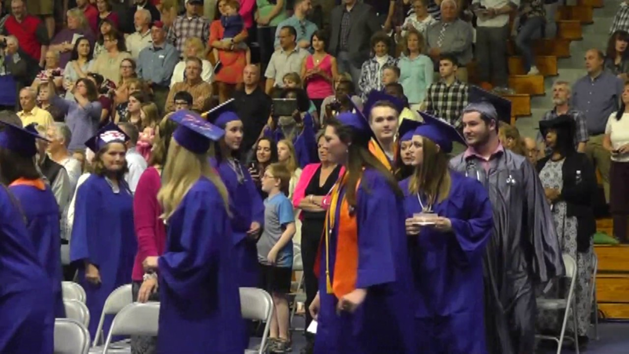 Clinton Community College Graduation  5-12-17