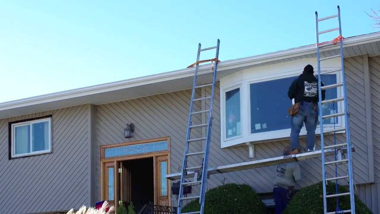 Time Lapse Bow Window Installation Renewal By Andersen Of