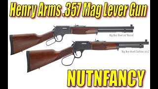 Henry Arms .357 Lever Gun: Why I'd Buy It