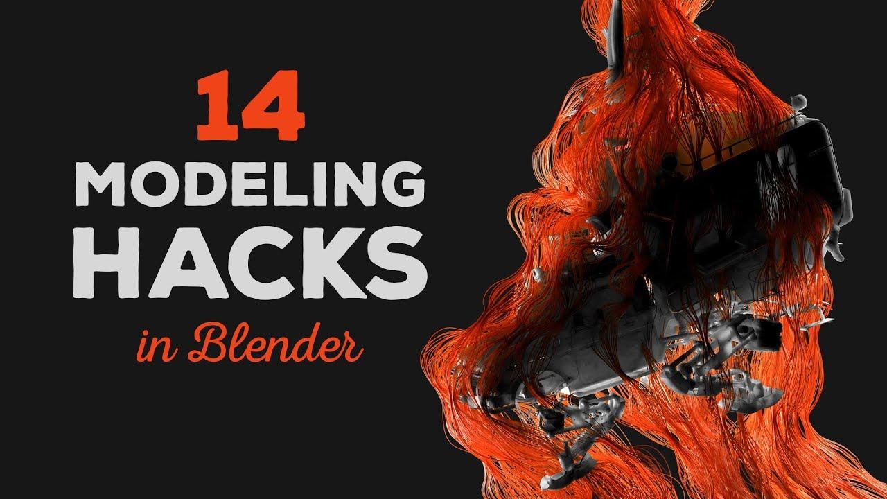 14 Awesome Modeling Hacks in Blender - CG Boost