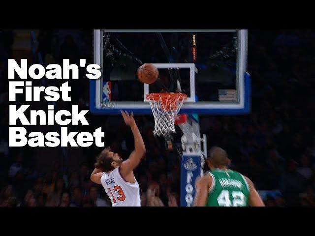 New York Knicks: Joakim Noah is gone, but not forgotten