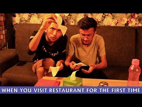 When You Visit Restaurant For the First Time || Comedy Video || HahahaTV Nepal