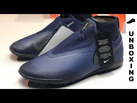 8e77c4d8e Nike React Phantom VSN PRO DF TF AO3277-440 - unboxing - YouTube