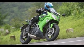 2012 Kawasaki Ninja 650 in India road test