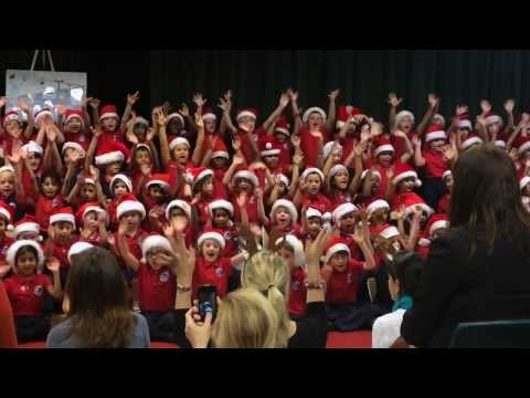 Alana in British School of Houston Christmas Concert