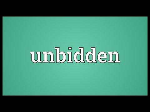 Header of unbidden