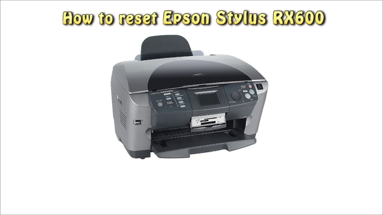 EPSON RX600 DRIVER WINDOWS