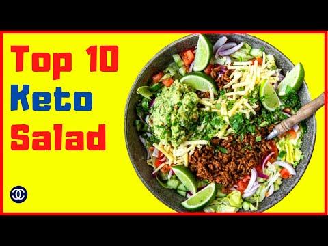 Top 10 Keto Low Carb Salad Recipes