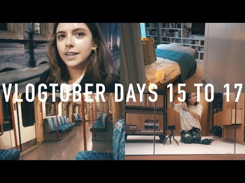 VLOGTOBER 2017 DAYS 15 TO 17: Haircare Routine + ROOM/BOOKSH