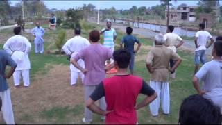 Yogi Haider Outdoor Class At Mandi Bahauddin Park Part1